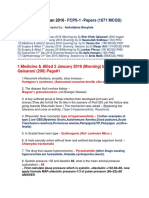 January-2016 Papers (1071 MCQS) by Amlodipine Besylate