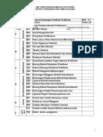 1 Senarai Kandungan Portfolio