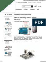 Tutorial Arduino y Control Remoto Infrarrojo