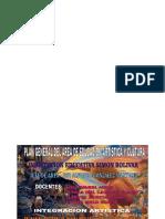 Plan General Del Area de Educacion Artística y Cultura