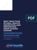 Best-practices-collection Platform for a Better Oral Health