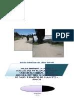 Perfil Mejoramiento Av. Huancayo Dar Formato