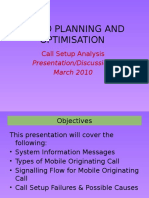 Call Setup Process and Failure Analysis