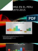 Economia en El Peru 1970-2015