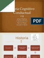 Teoría Cognitivo Conductual .ppt