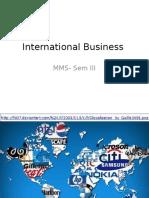International Business A