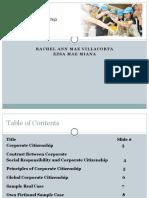 Corporate Citizenship Final