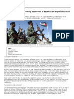 El Frente Polisario Asesinó y Secuestró a Decenas de Españoles en El Sáhara