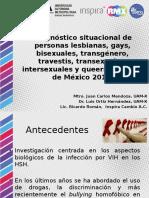 Presentación resultados Diagnóstico LGBTIQ México 2015