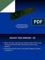 BAHAN 3D