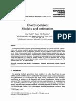 Overdispersion Models and Estimation