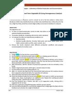 Biodiesel Protocol