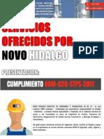 presentacion NOVO HIDALGO, GRUPO NOM-020  2016.ppt