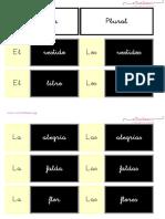 2 Singular y Plural Letra Ligada