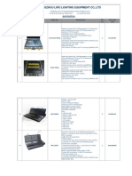 Liro Ma Console List(2016-10) (1)
