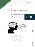 5- La Argumentación (Cuadernillo)