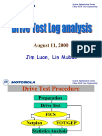 Drive Test Analysis