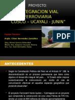 Integracion Vial Ferroviaria