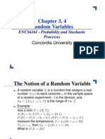 ENCS 6161 - Ch3 and 4