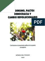 Sandinismo, pactos, democracia y cambio revolucionario - Mónica Maltodano