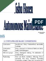 Jishu Hozen or Autonomous Maintenance by Dksahoo2