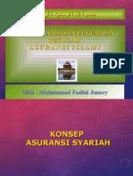 Konsep,Landasan, Hukum Dan Pelaksannaan Ansuransi Syariah