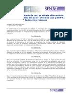 Declaración Andina Del Valor Formas DAV y DAV-A Instructivos y Anexos