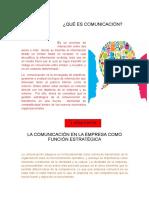 La Comunicación en La Empresa Como Función Estratégica Copia