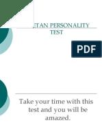 Article 08 - Tibetan Personality Test