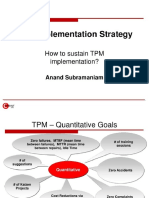 Tpm Implementation Strategy by Anandsubramaniam