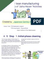 Tpm for Lean Manufacturing Chpstep of Jlshu Hozen Activities by Hiroyukimonma