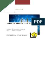 Sejarah Arsitektur Islam