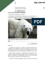 La Jornada_ Osos Híbridos, Respuesta de La Naturaleza Al Cambio Climático