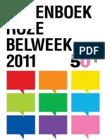 Groenboek Roze Belweek 2011