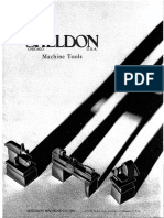 Sheldon Machine Tools Catalog - G55