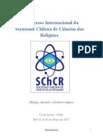 Sociedade Chilena de Ciências das Religiões (Circular Congresso 2017 Maio)