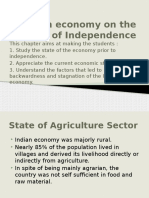 Indian Economy on the Eve of Independence [Autosaved]