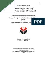 1507606 RezaHesti Tugas 1 PTD S2Depag