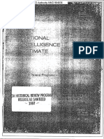 National Intelligence Estimate 11-1-73