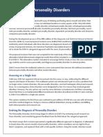 APA DSM 5 Personality Disorder