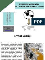 Clase No 12, Contaminacion Ambiental Por Mineria La Rinconada