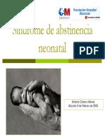 Sindrome de Abstinencia Neonatal
