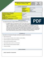Informe de Volquete scania p460