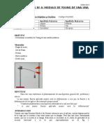 Laboratorio n°4 mecanica - mod young
