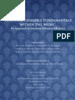 Teaching Ensemble Fundamentals
