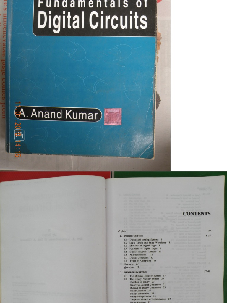Fundamentals Of Digital Circuits By Anand Kumar Ebook