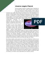 El Universo Según Planck