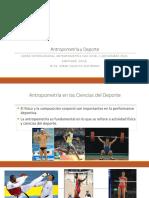 Antropometria y Deporte