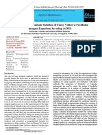Study of the Approximate Solution of Fuzzy Volterra-Fredholm Integral Equations by using (ADM)