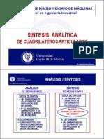 08_sintesis Analitica Cuadrilatero Articulado